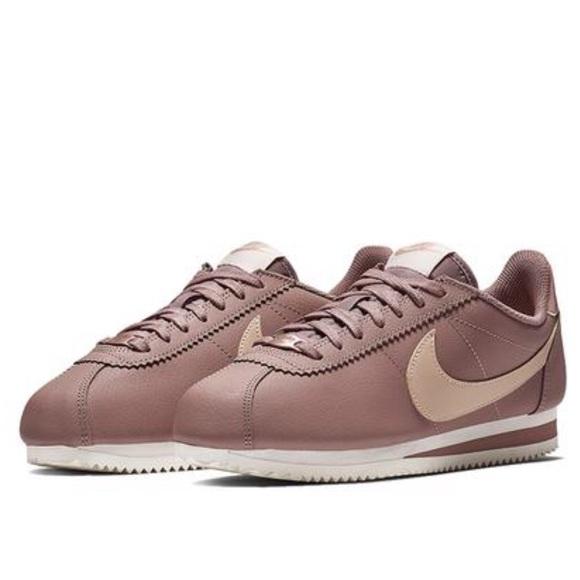 sale retailer 07ec2 1437d NWT Nike Classic Cortez Leather Smokey Mauve WMNS NWT